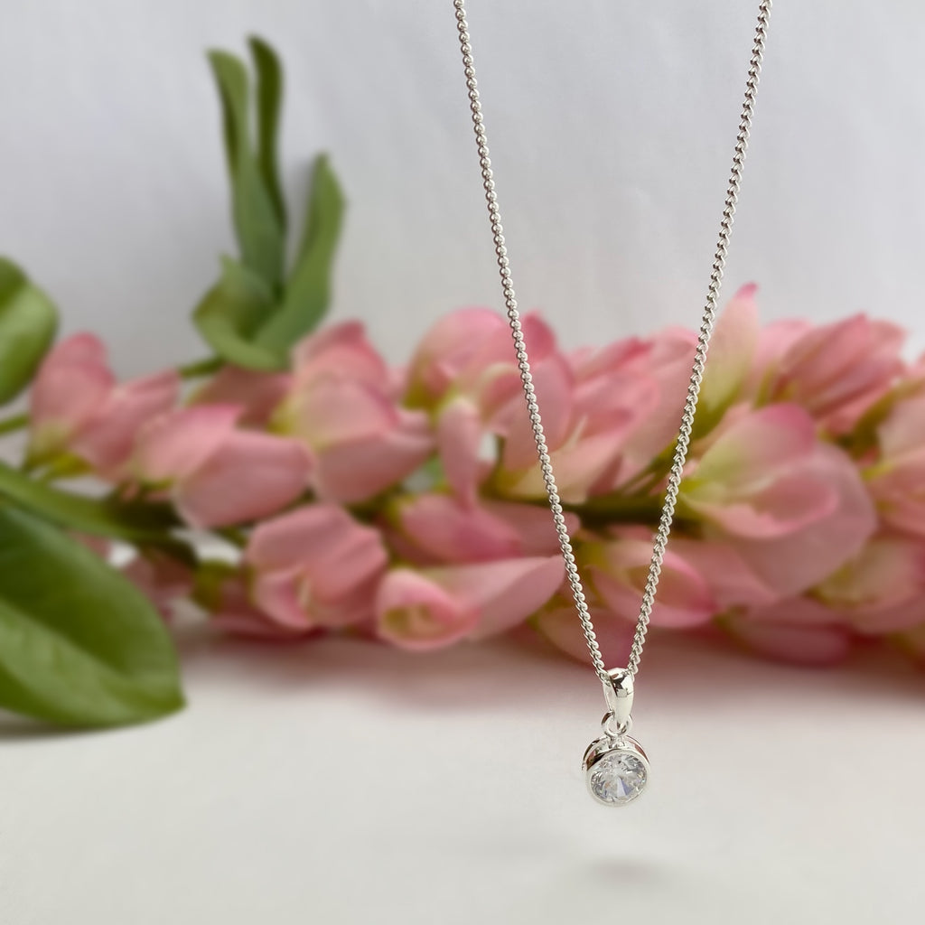 Diamond Sparkle Pendant (April) - SP2914