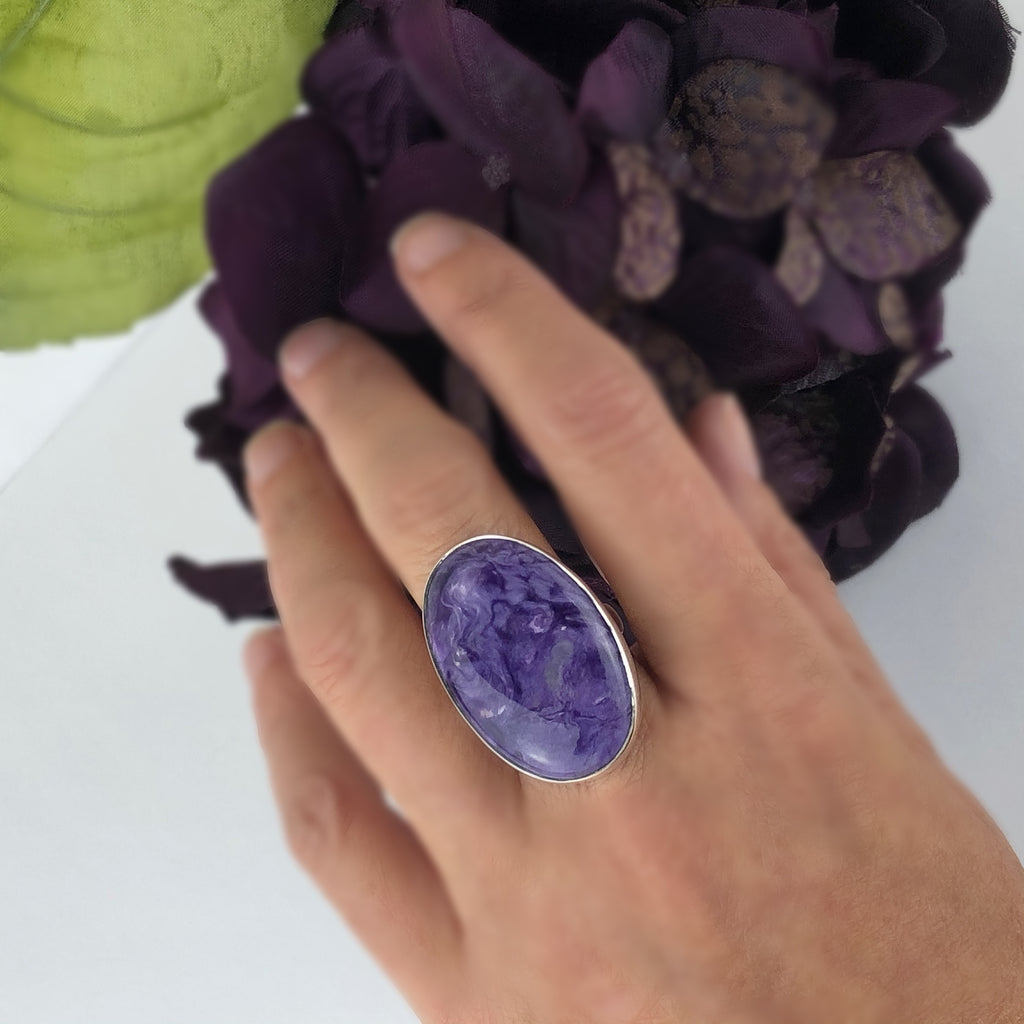 Lilac Wine Ring - VR371