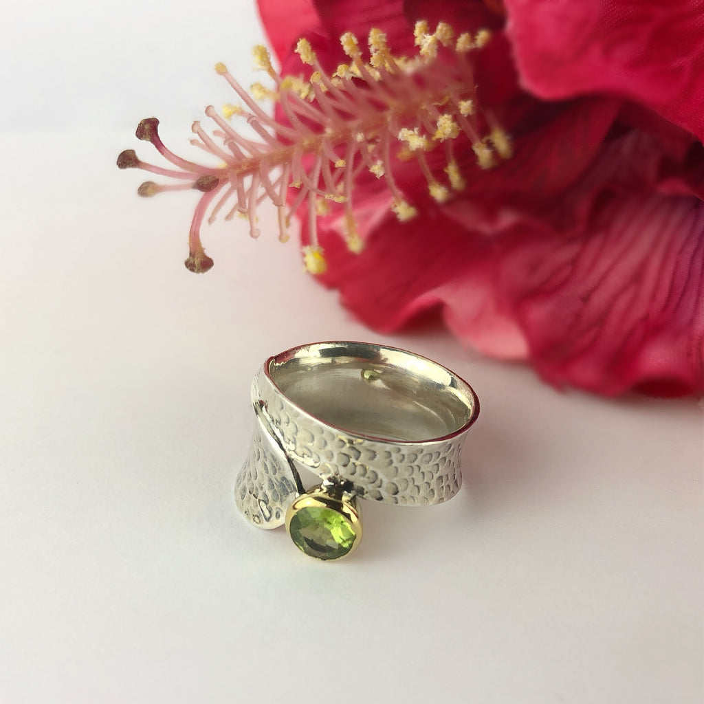 Peridot Wrap Ring - VR331