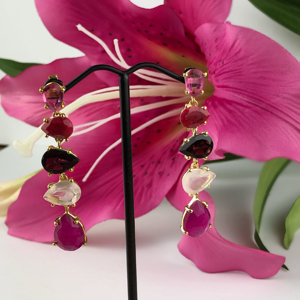 Summer Berry Earrings - VE494