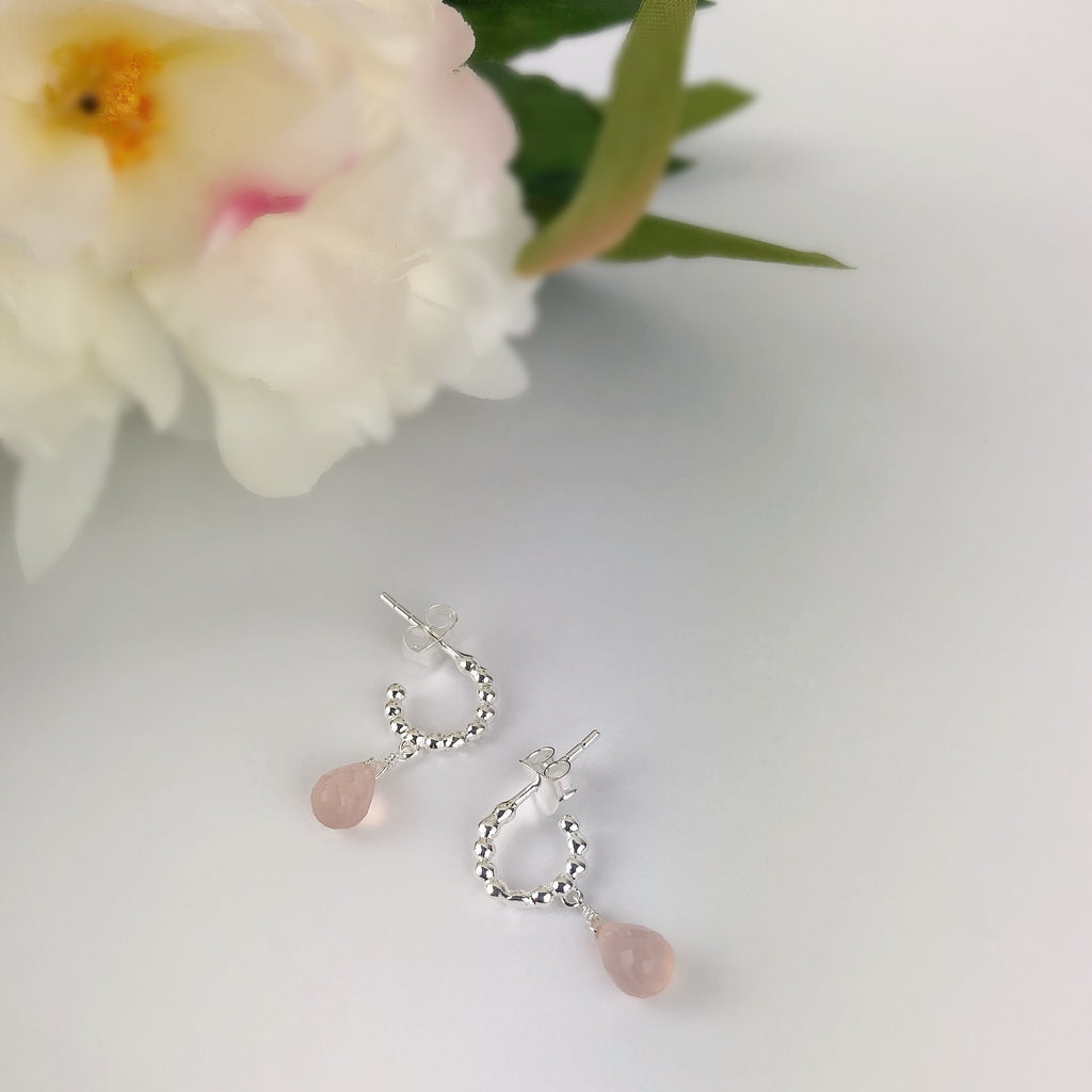 Pink Mist Earrings - SE4629