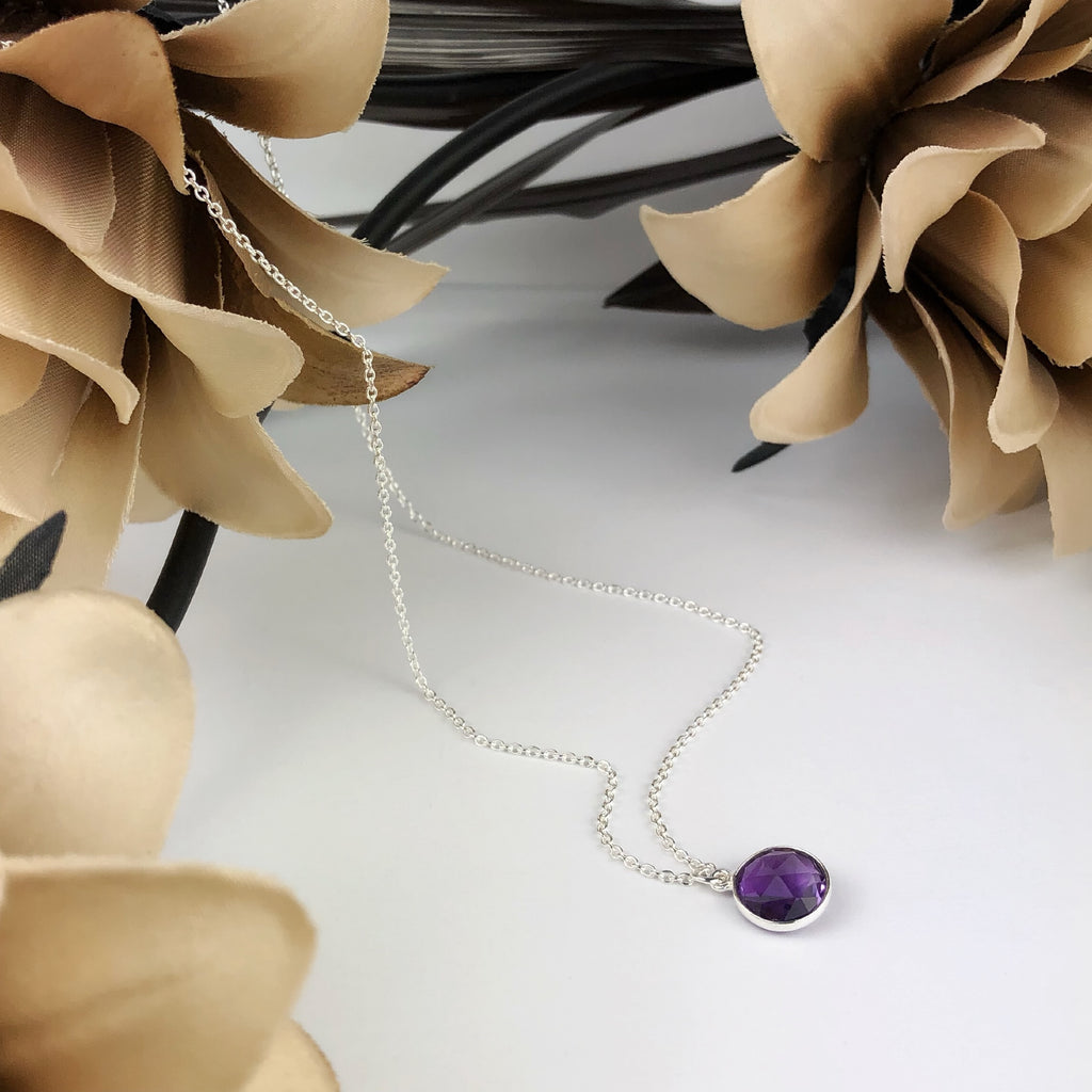 Spring Violet Necklace - VNKL169
