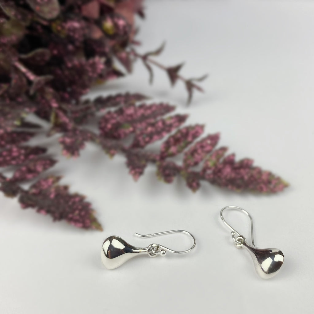 Molton Silver Earrings