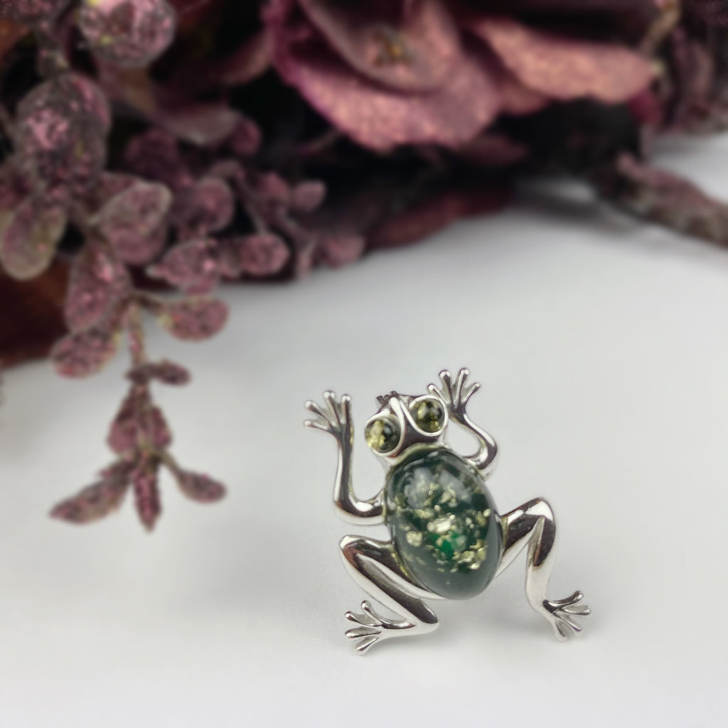 Tree Frog Brooch - VBR105