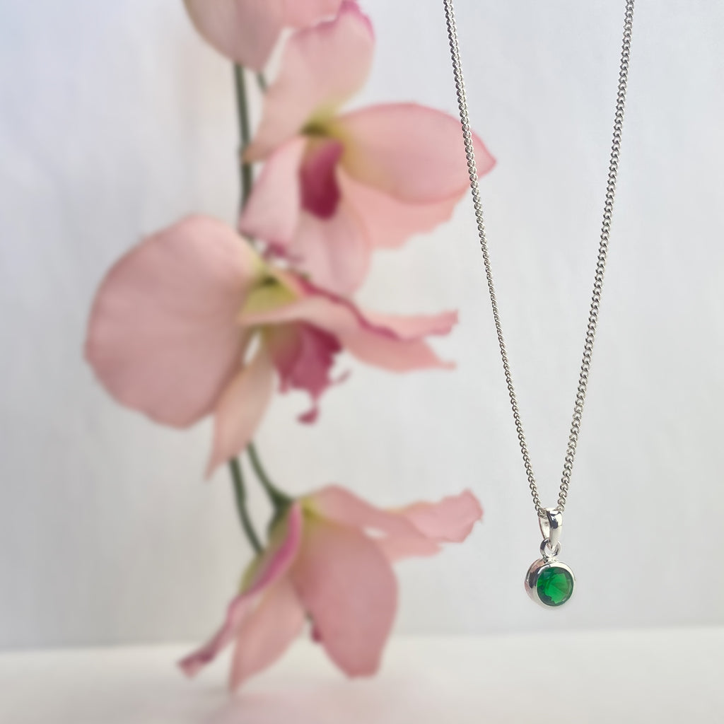 Emerald Sparkle Pendant - SP1784