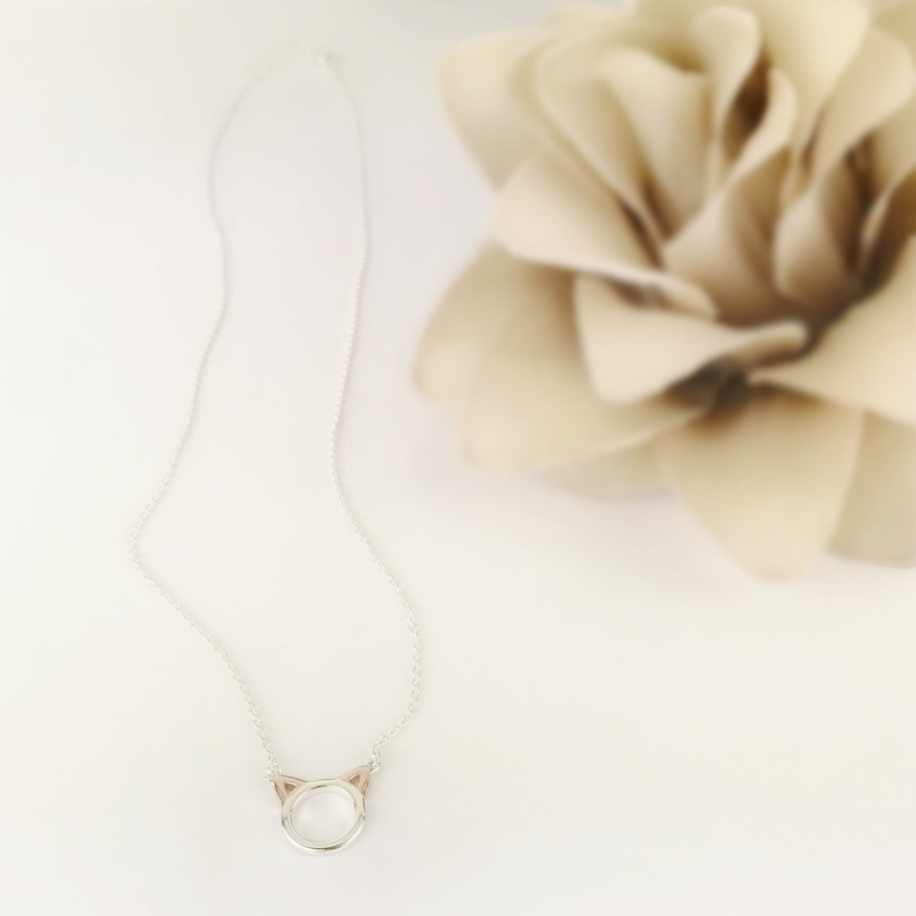 Kooky Cat Necklace - SCHN1063