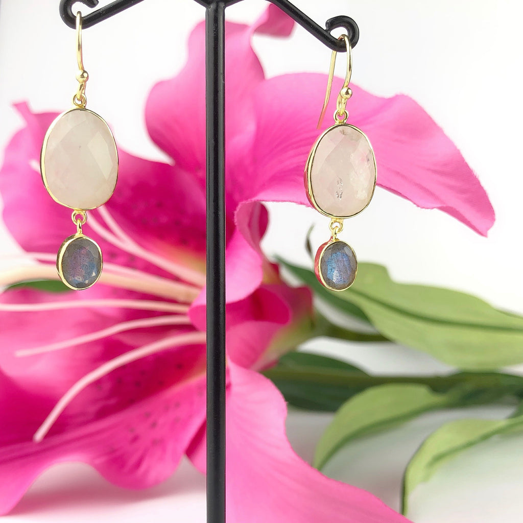 Moon Shimmer Earrings - VE321