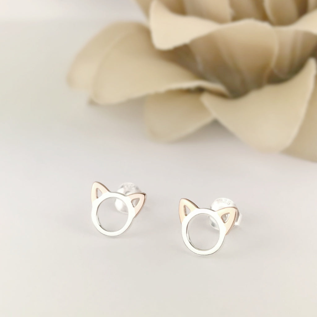 Kooky Cat Earrings - SE4893