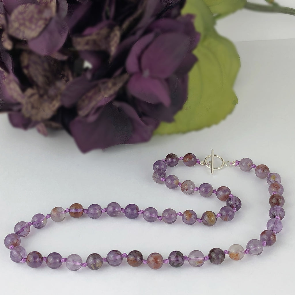 Auralite Bead Necklace - VNKL223