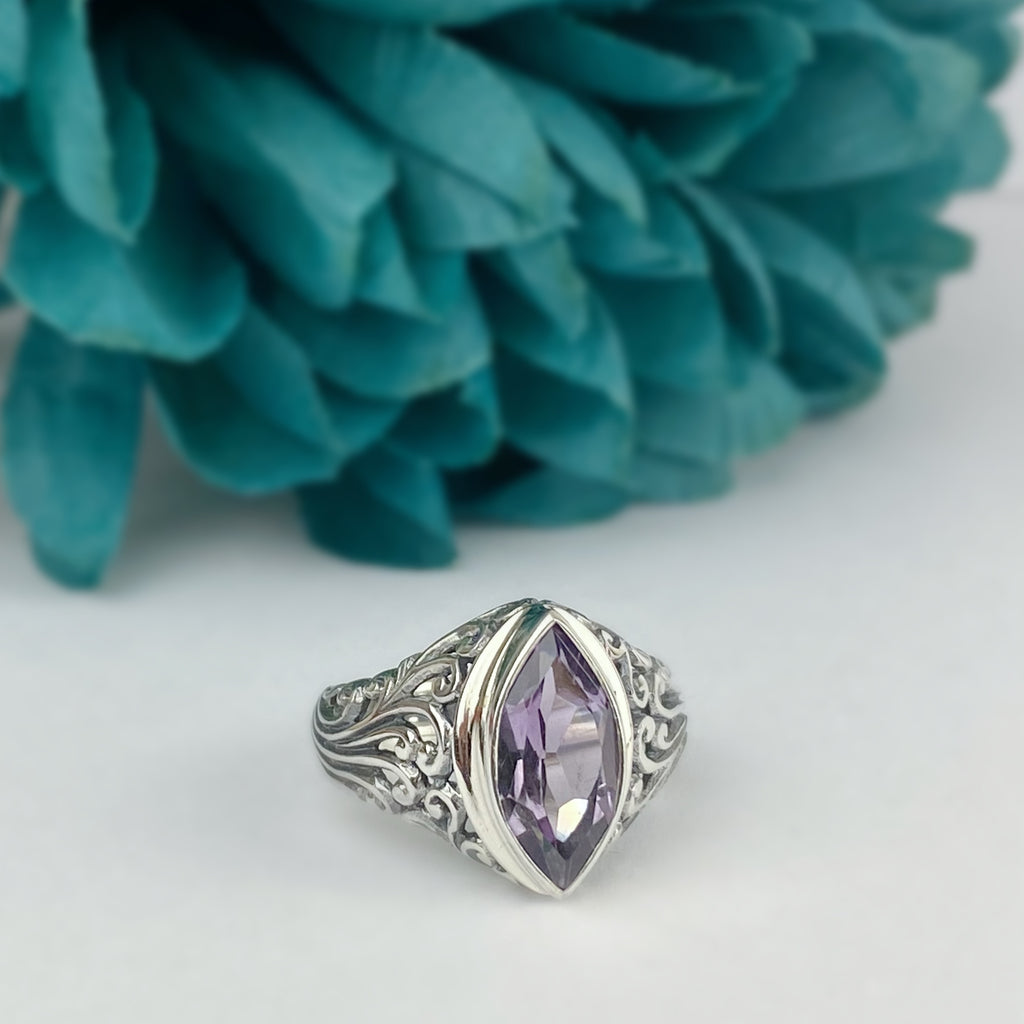Purple Breeze Ring - VR458