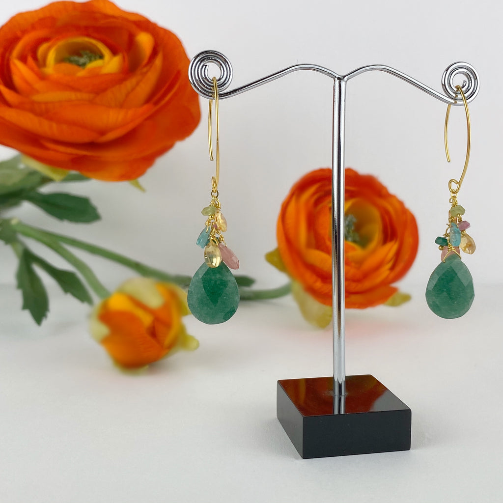 Green Dream Earrings - VE615
