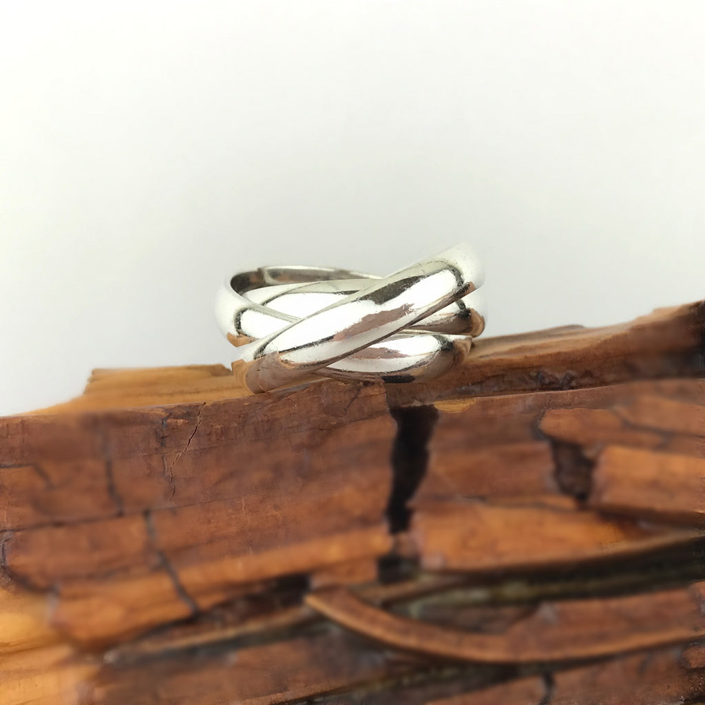 Chunky Russian Wedding Ring - VMR233