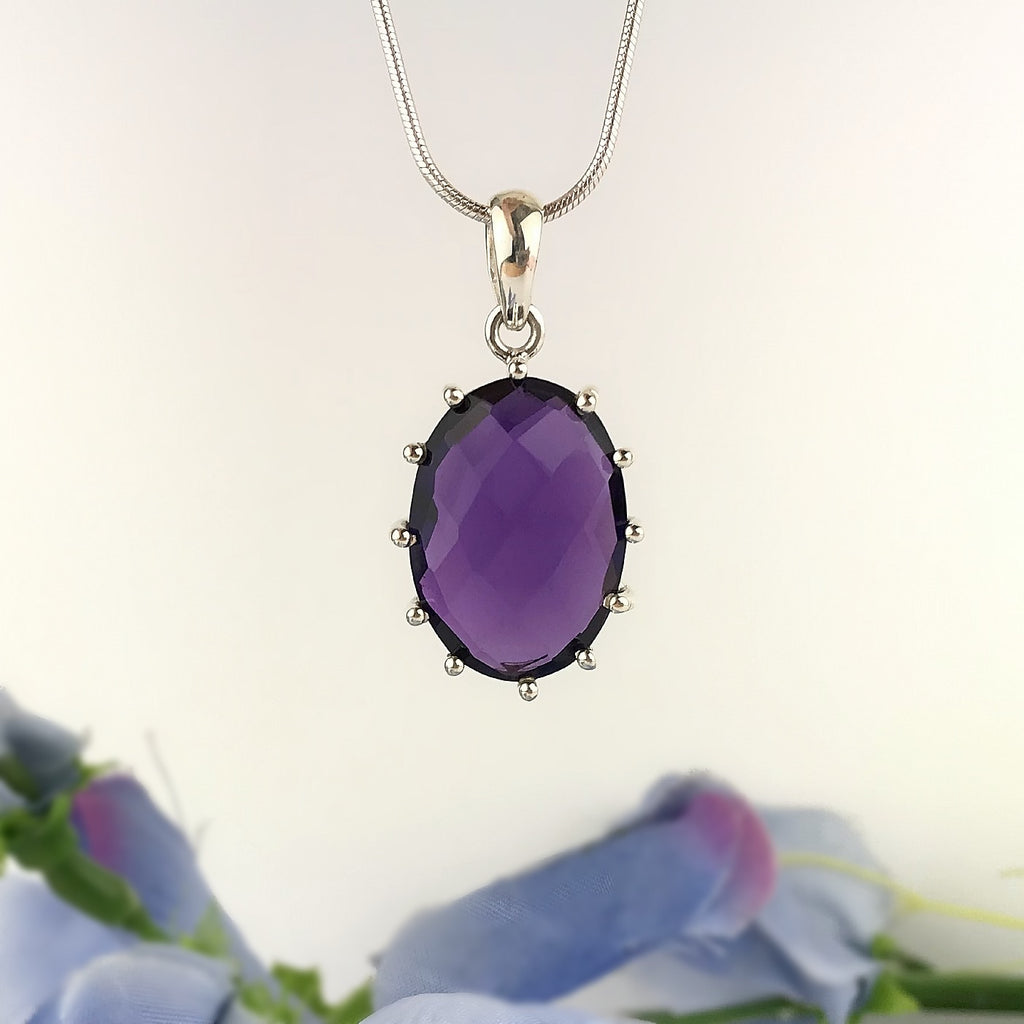Deep Purple Pendant - VP323