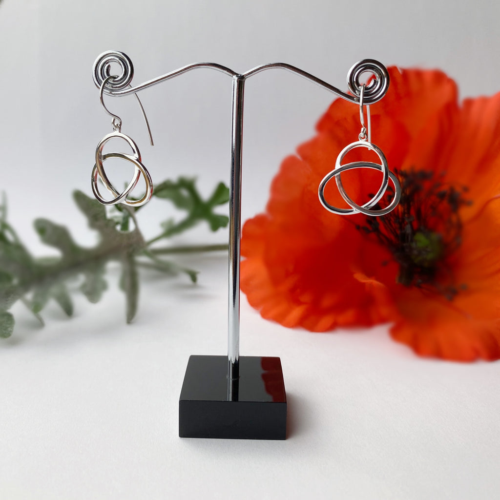 Eternal Silver Earrings - SE4947