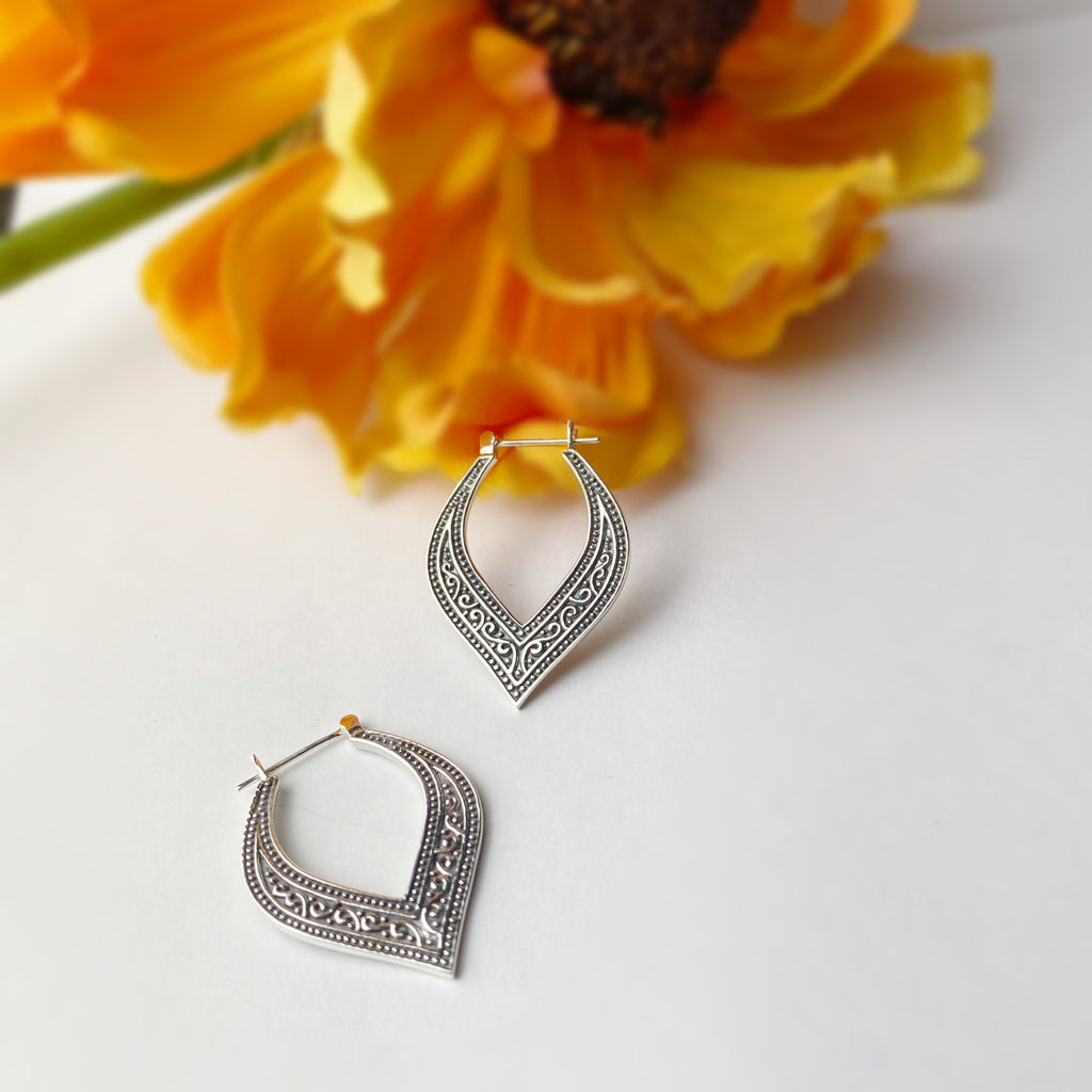 Asana Hoop Earrings - SE5036