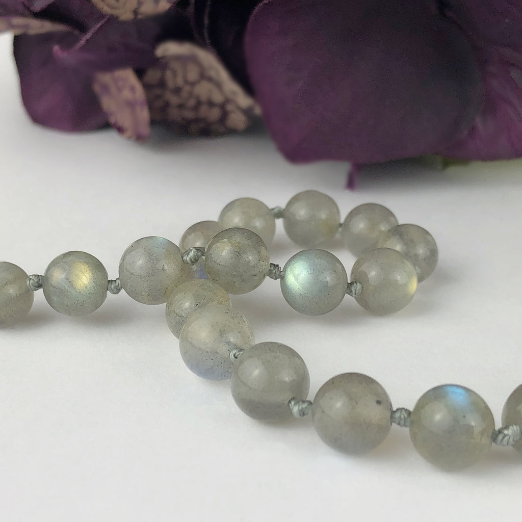 Labradorite Bead Necklace - VNKL221