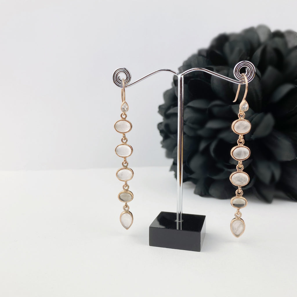 Rose Sunset Earrings - VE249