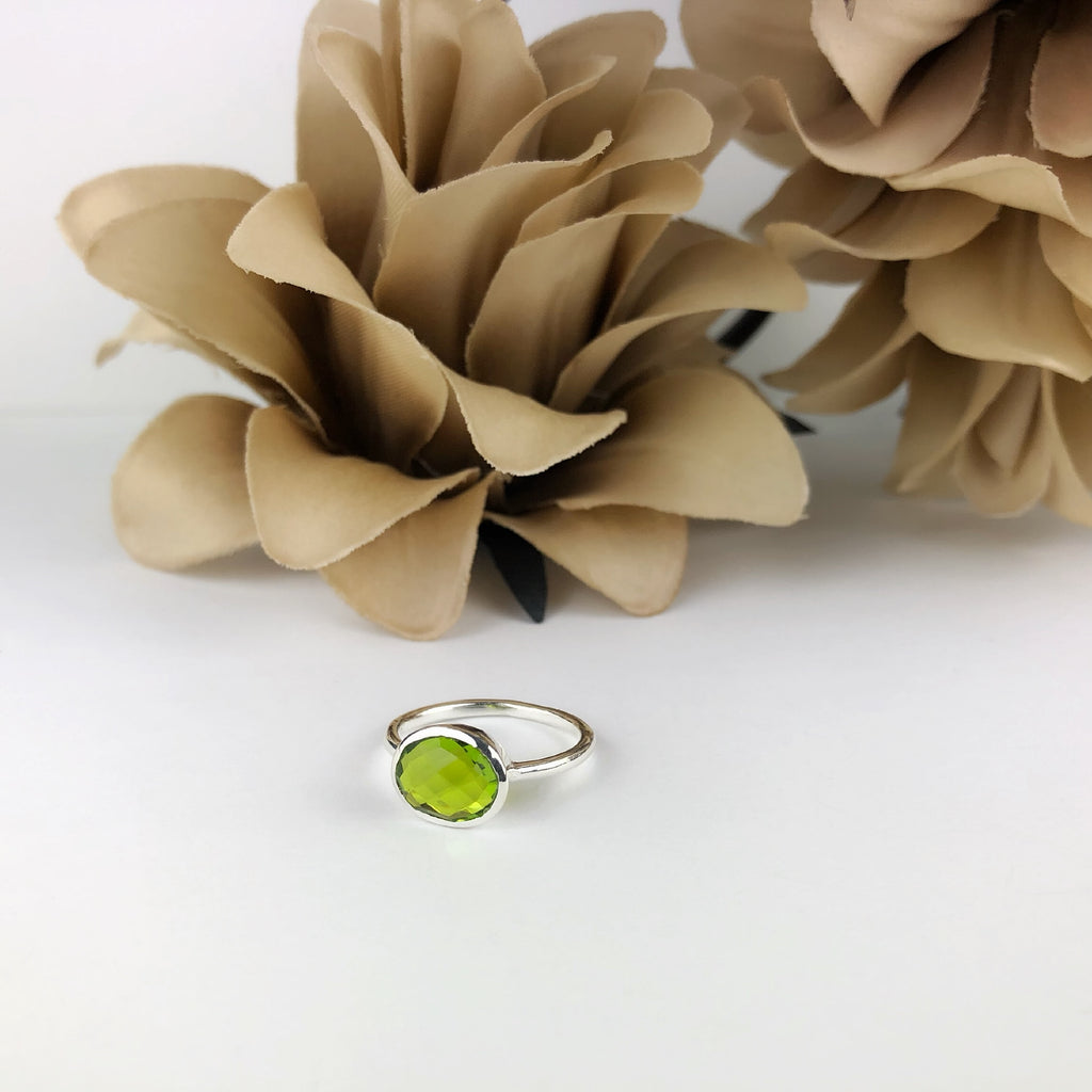 Lime Drop Ring - VR285