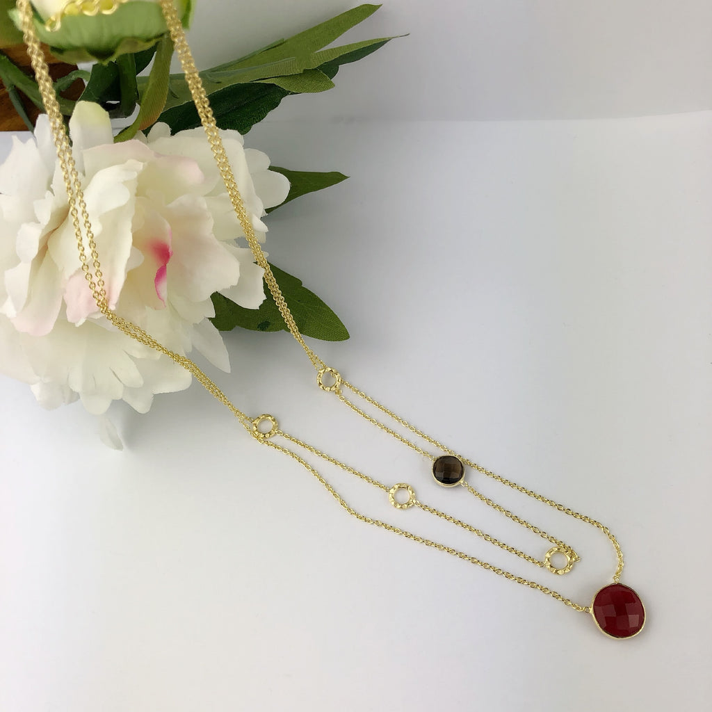 Cherry Bakewell Necklace - VNKL175