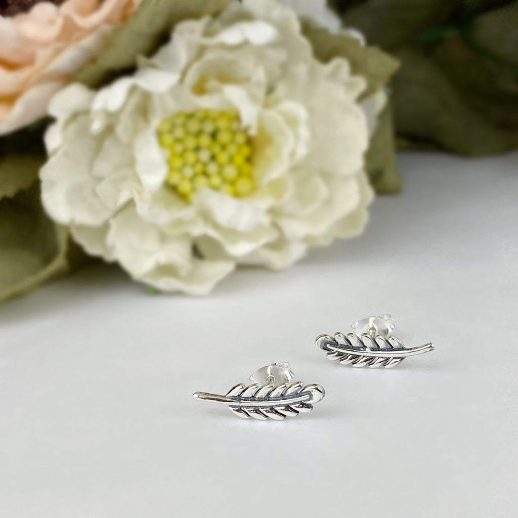 Feather Frond Earrings - VE548
