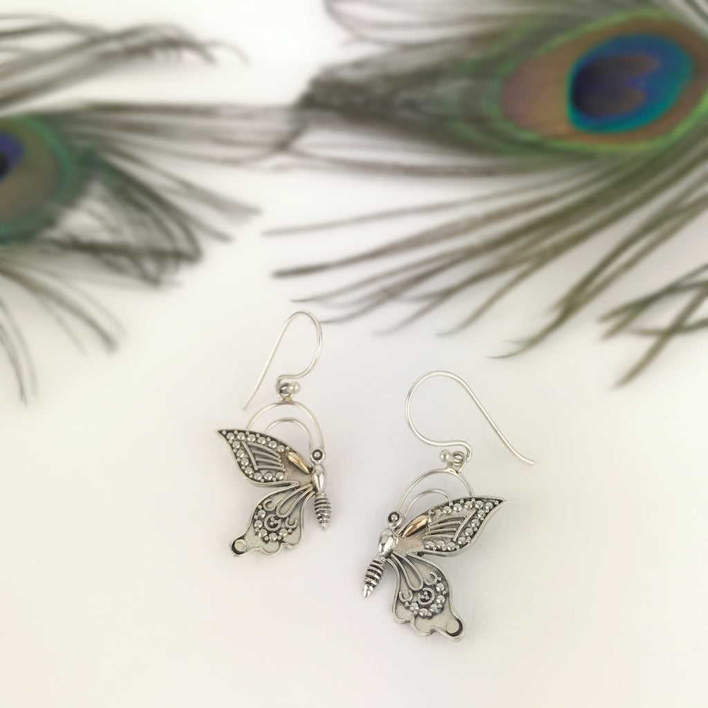 Dancing Butterfly Earrings - VE628