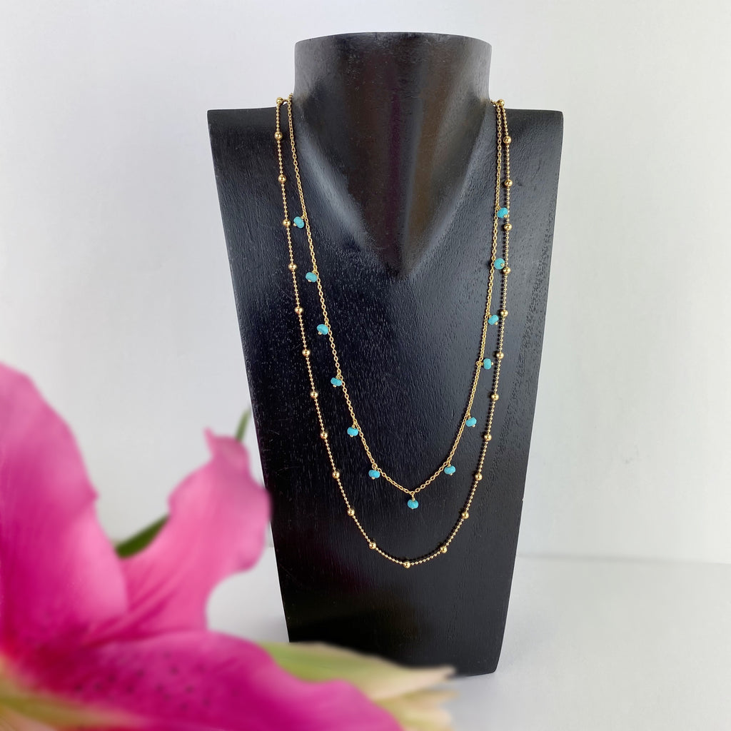 Turquoise Dream Necklace - VNKL261