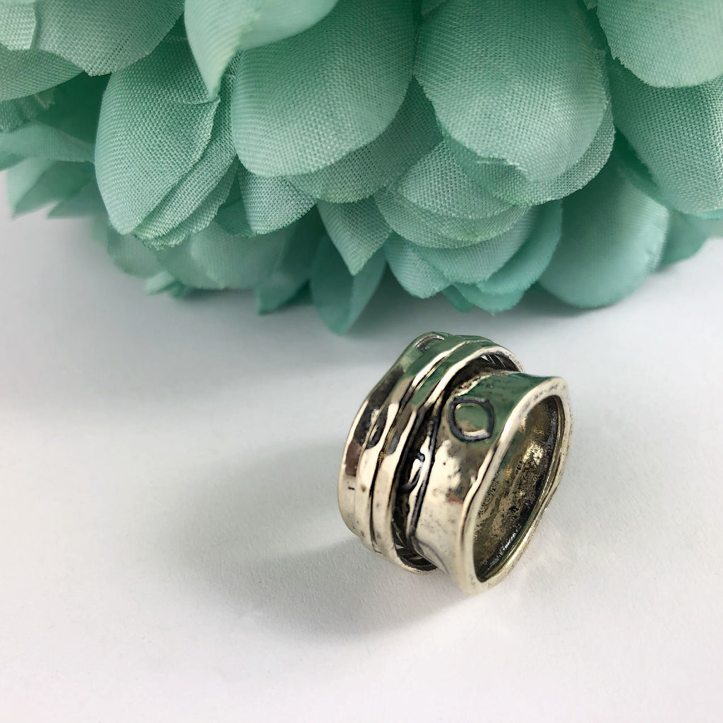 Leaf Spin Ring - SR1240