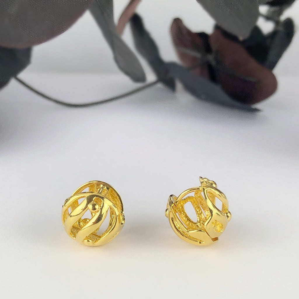 Coraline Gold Earrings - VE573