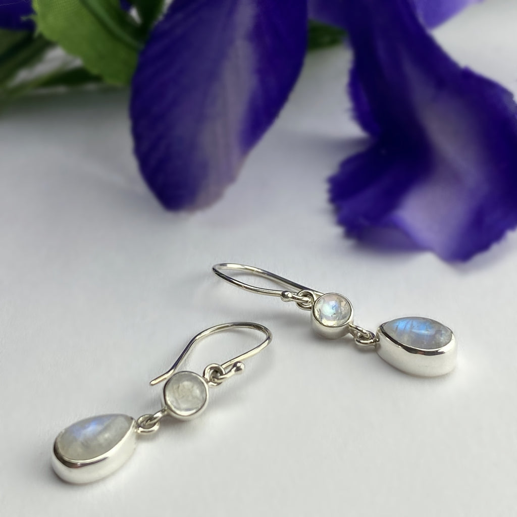 Mischa Moonstone Earrings - VE648