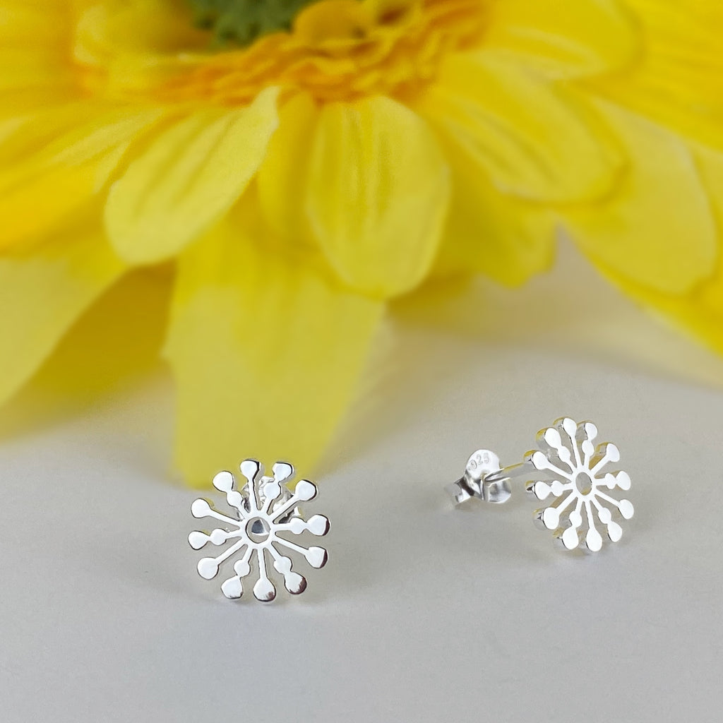 Sunflake Earrings - VE232