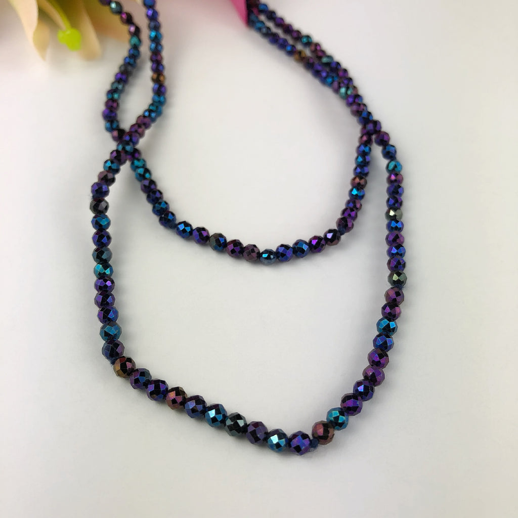 Midnight Fireworks Necklace - VNKl182