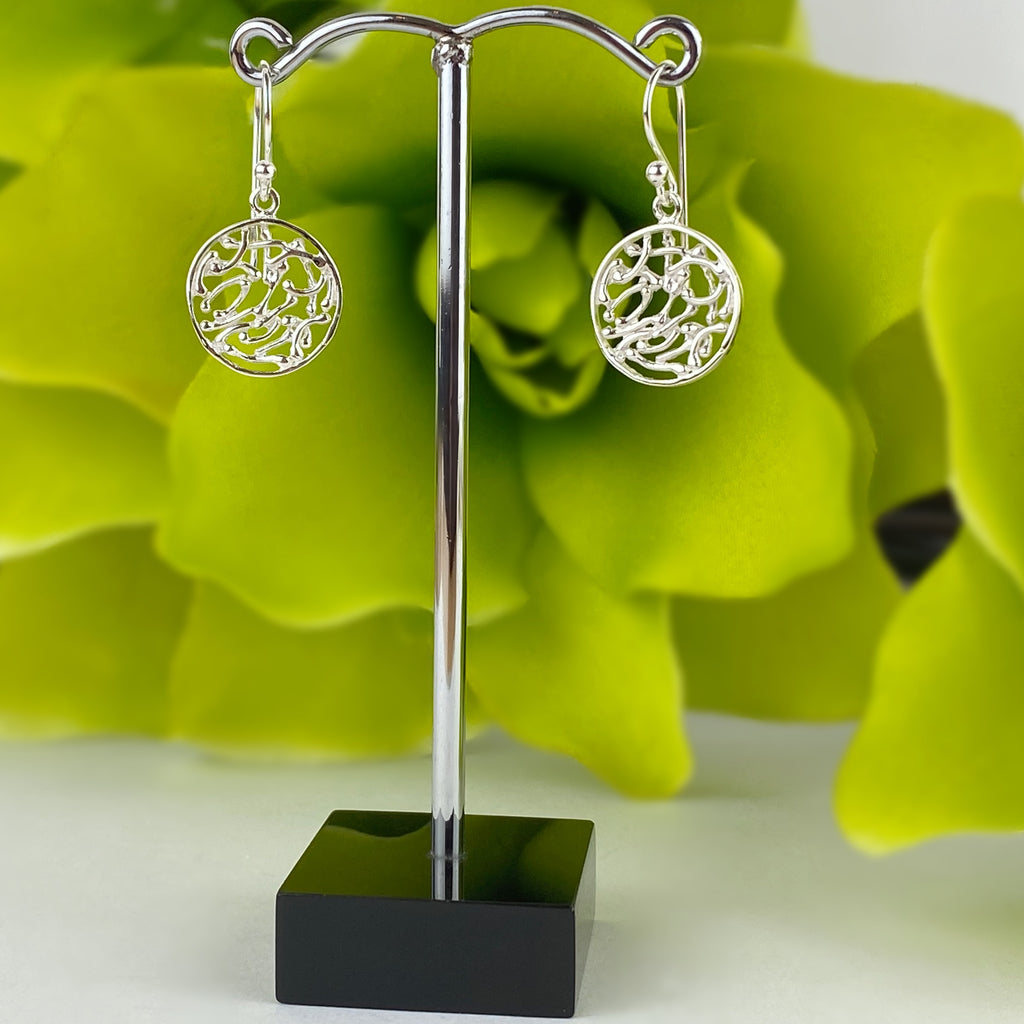 Basketweave Earrings - VE553