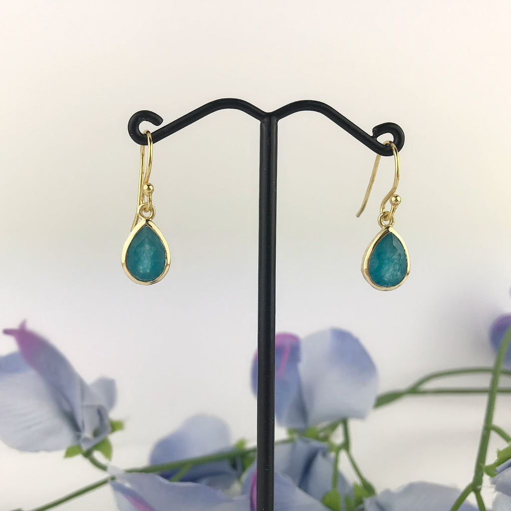 Sea Green Earrings - VE586