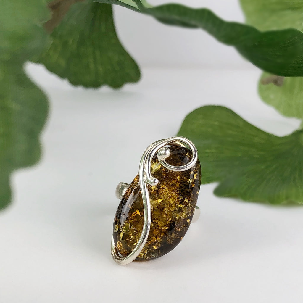 Amber Melody Ring - VR357