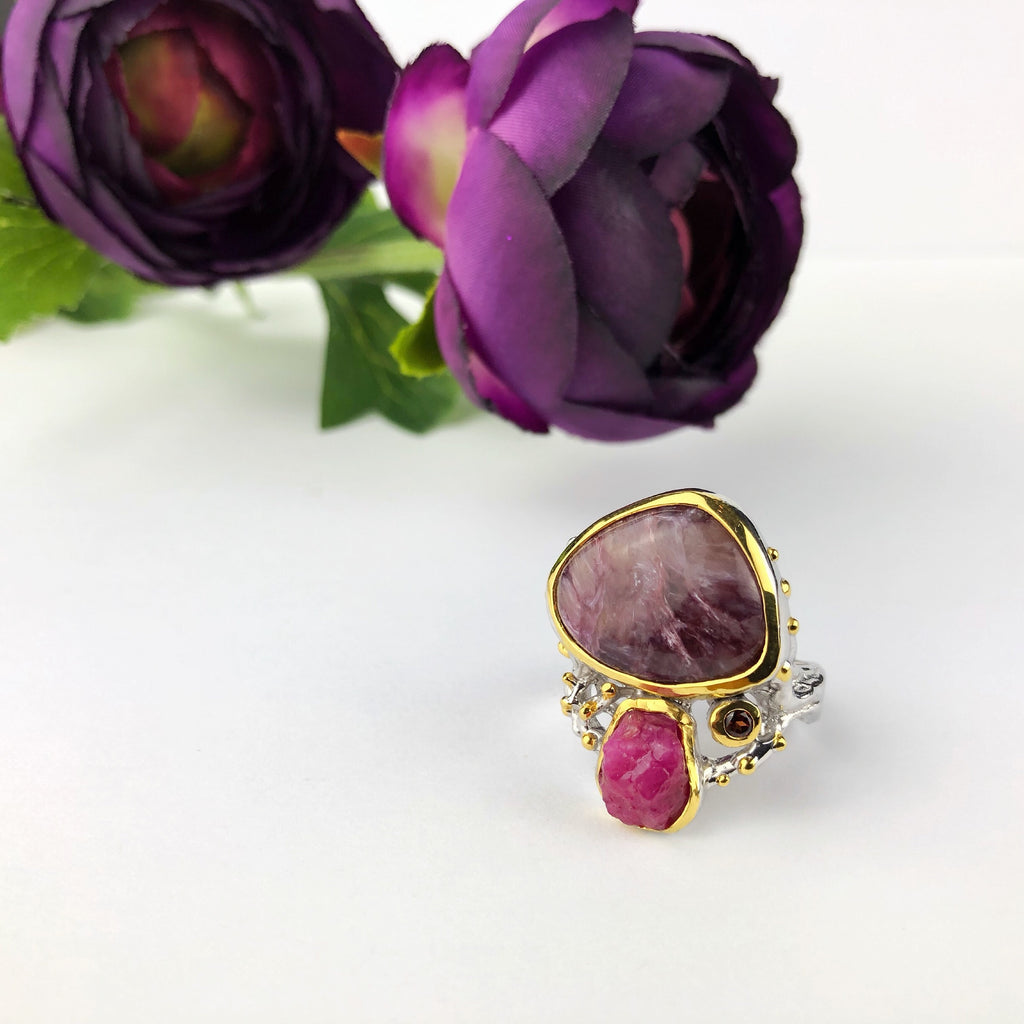 Mulberry Fruits Ring - GLR141