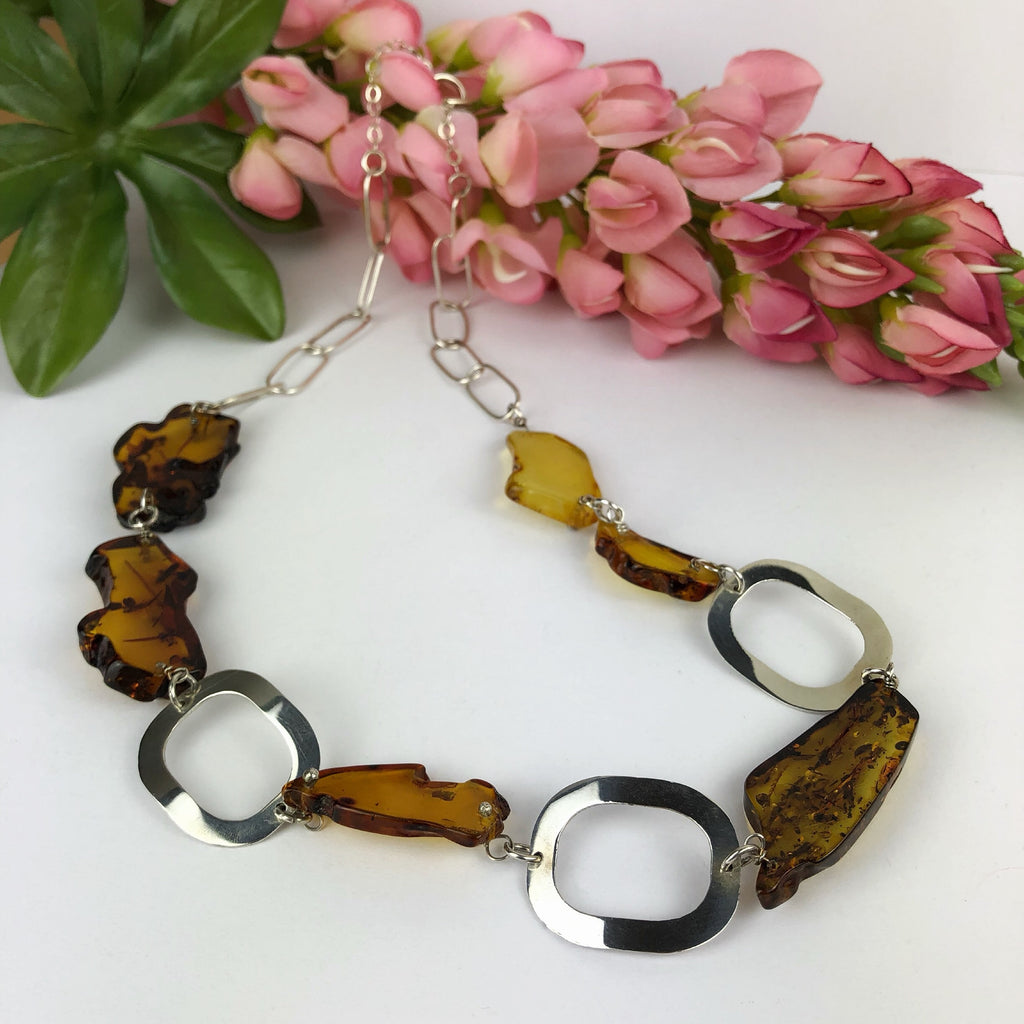 Honey Amber Necklace - VNKL155