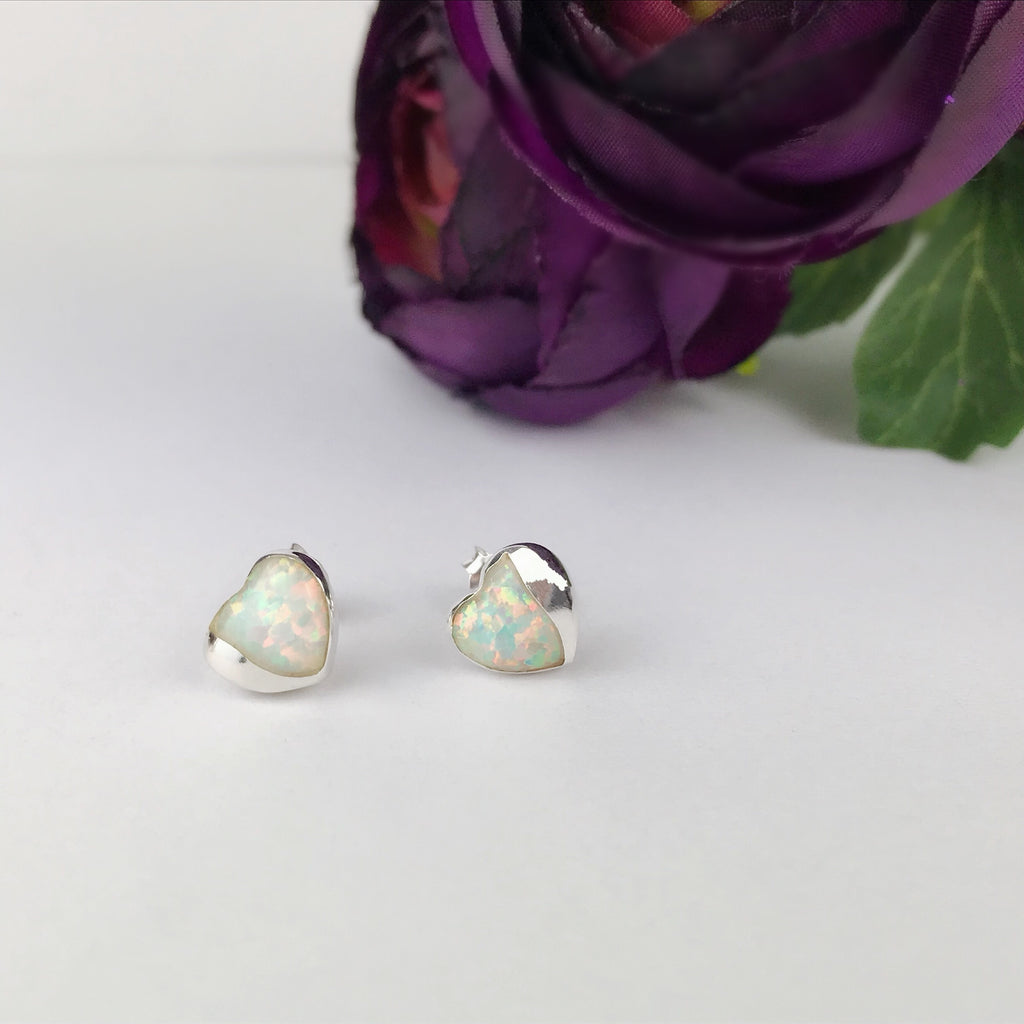 Hearts of Opal Earrings - SE2476