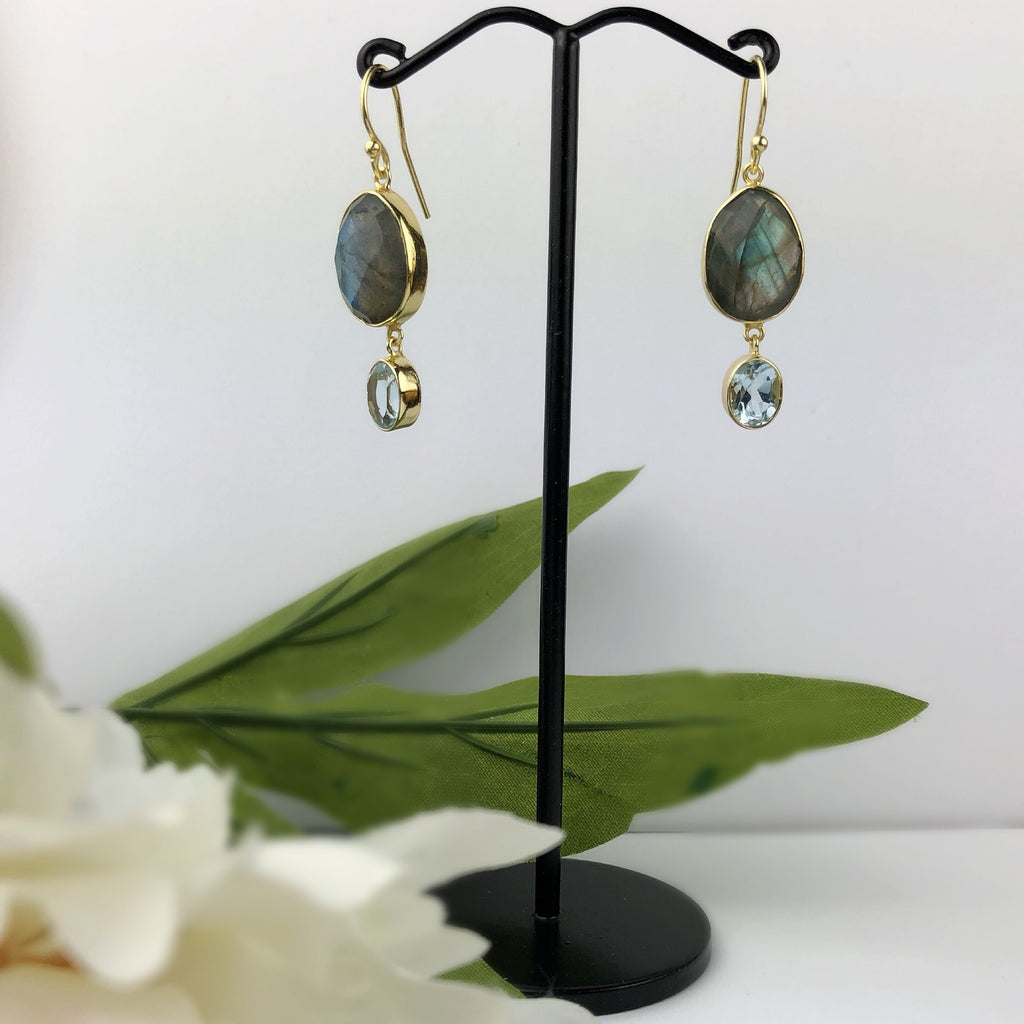 Green Ocean Earrings - VE469