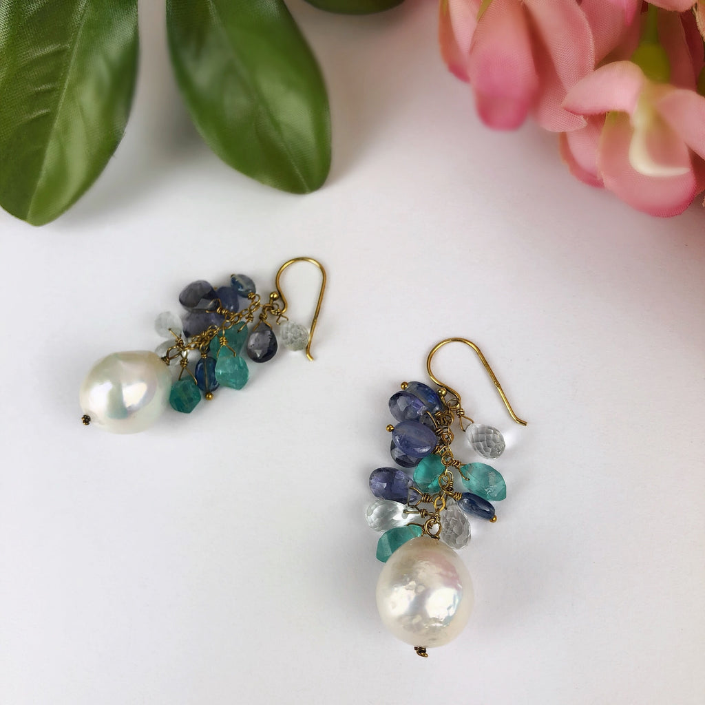 Blue Moon Earrings - VE456