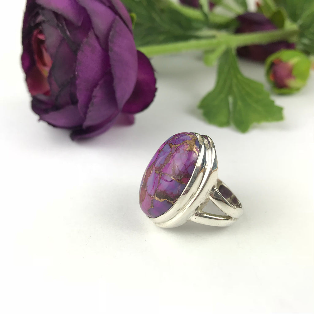 Marbled Violet Ring - SR1218
