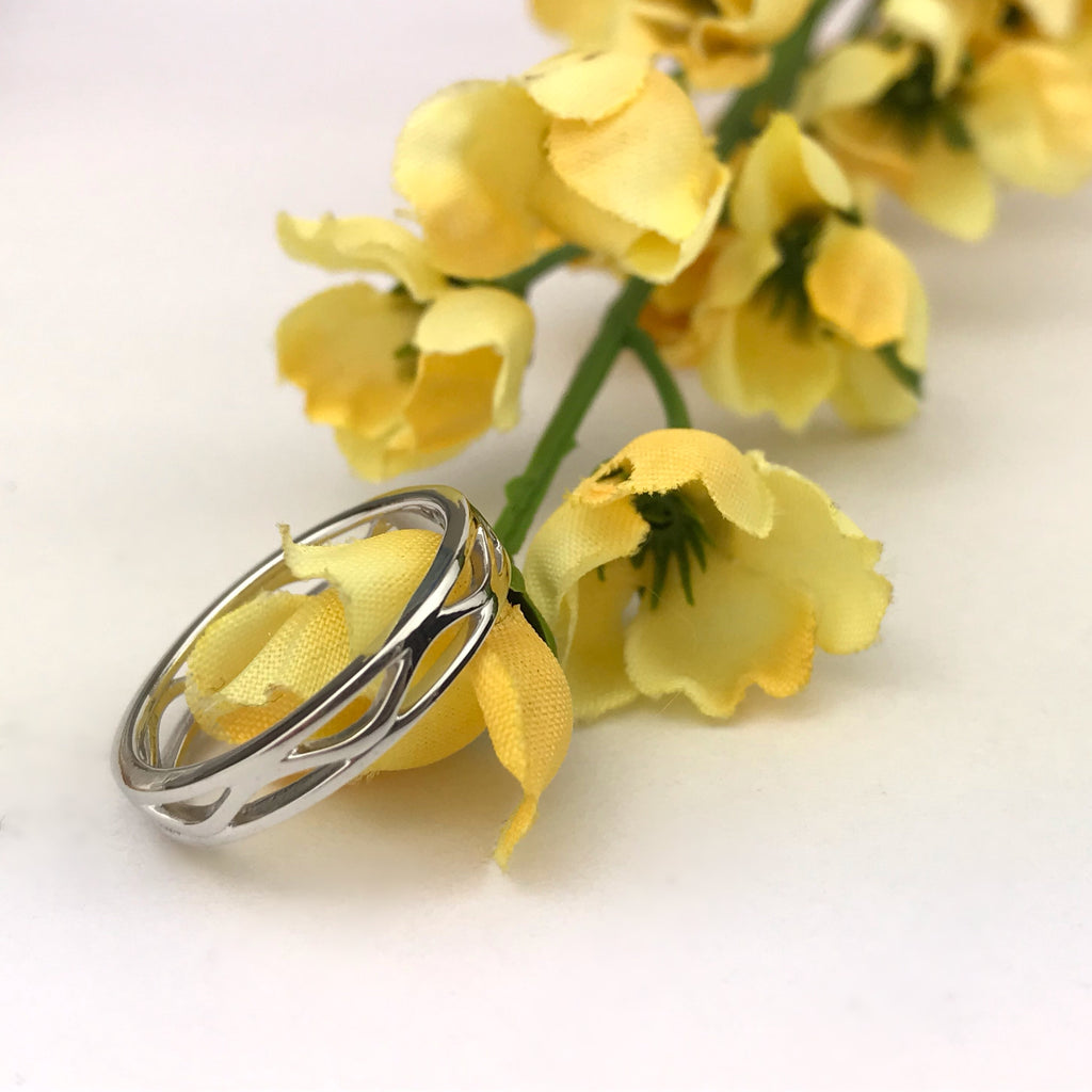 Silver Wave Ring - SR1415