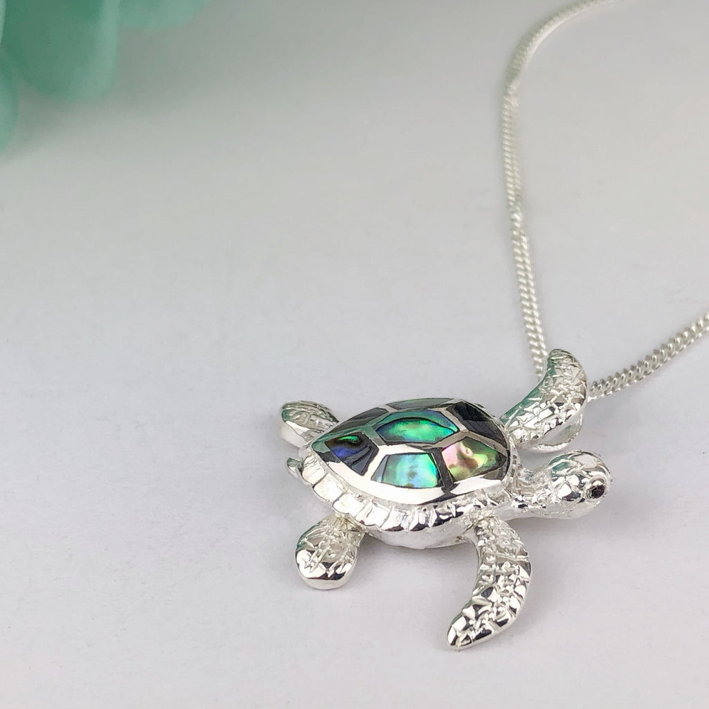 Sea Turtle Pendant - SP2755