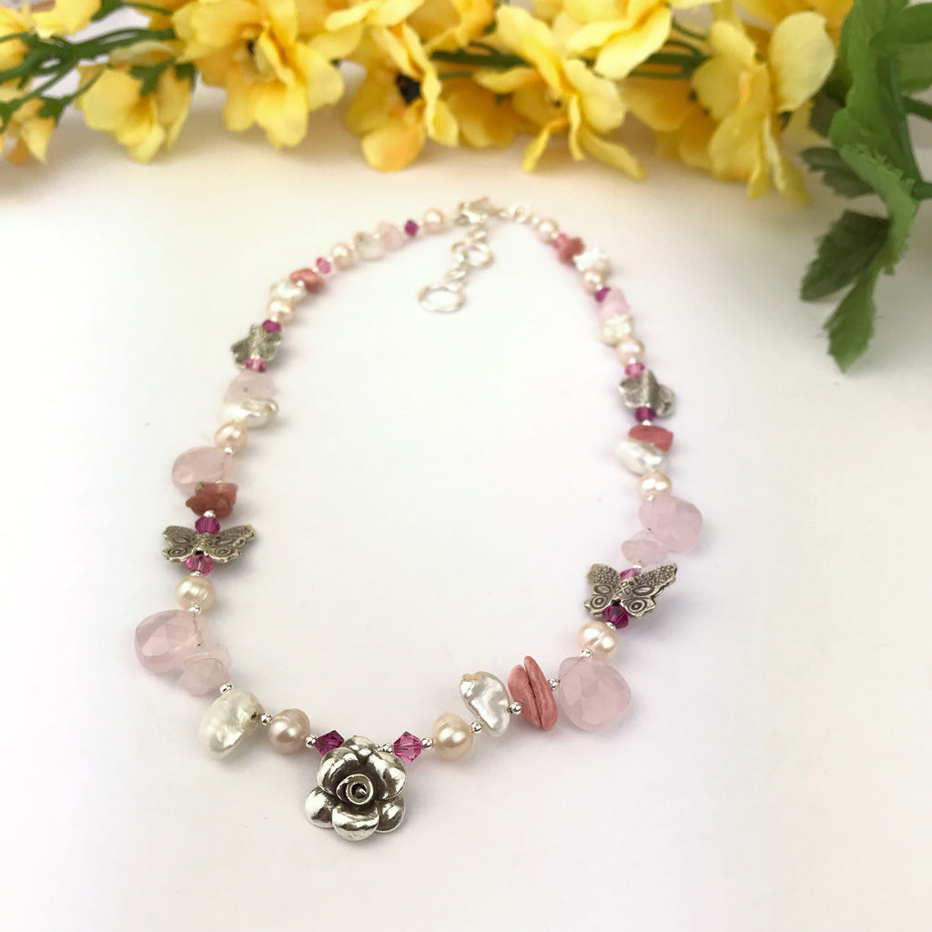 Paradise Pink Necklace - VNKL146