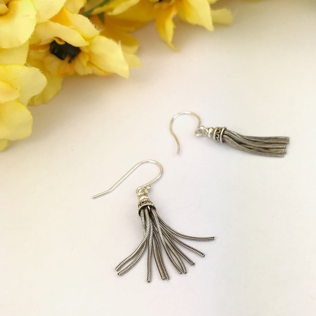 Bali Tassel Earrings - VE455