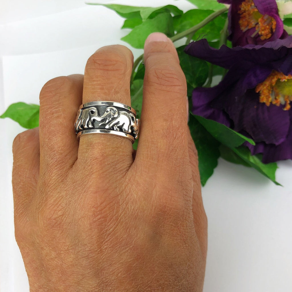 Circle of Elephants Ring - SR1891