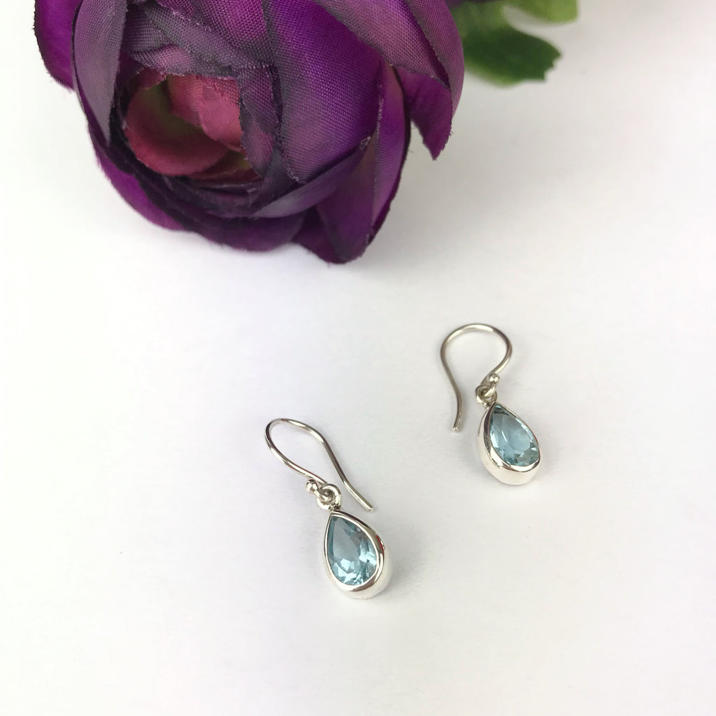 Topaz Petal Earrings - VE452