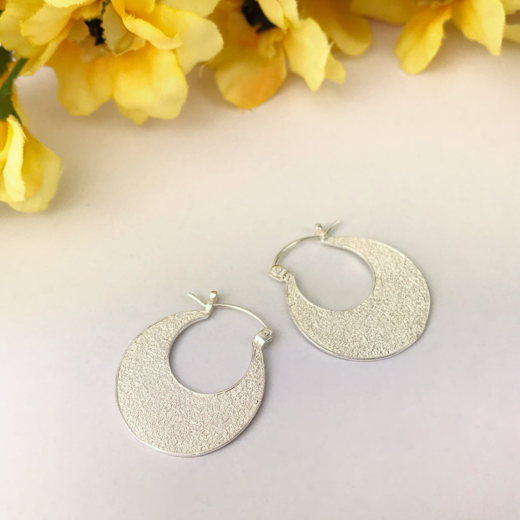 Impression Hoop Earrings - VHE102