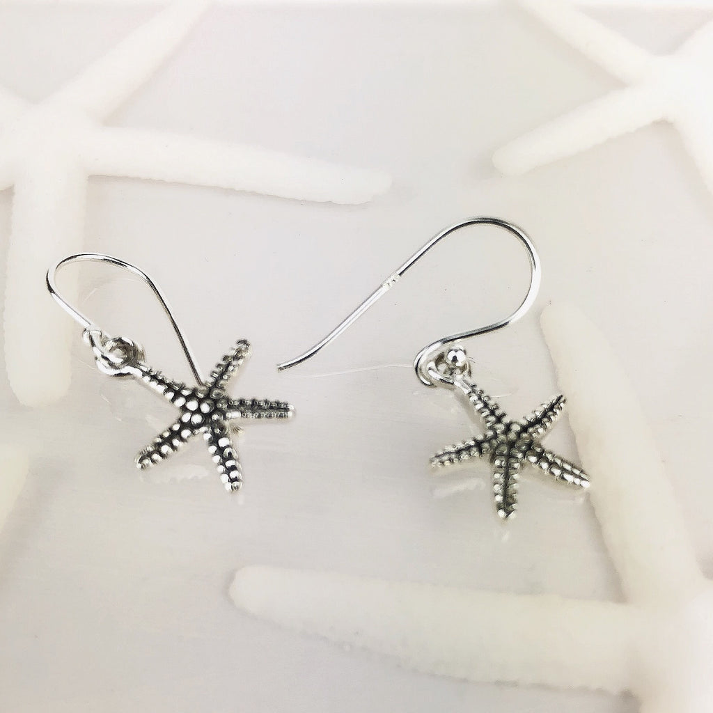 Simple Starfish Earrings - SE4741