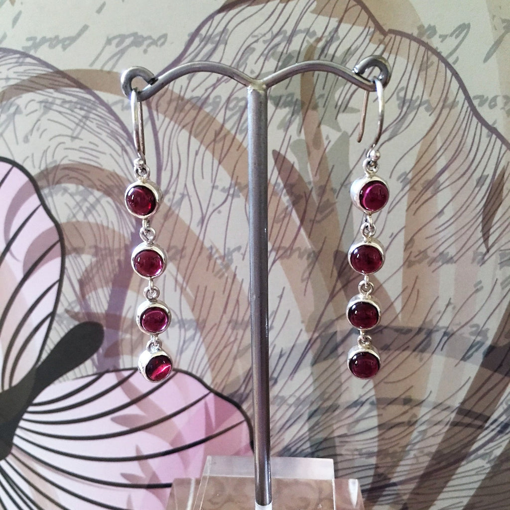 Berry Drop Earrings - JE110