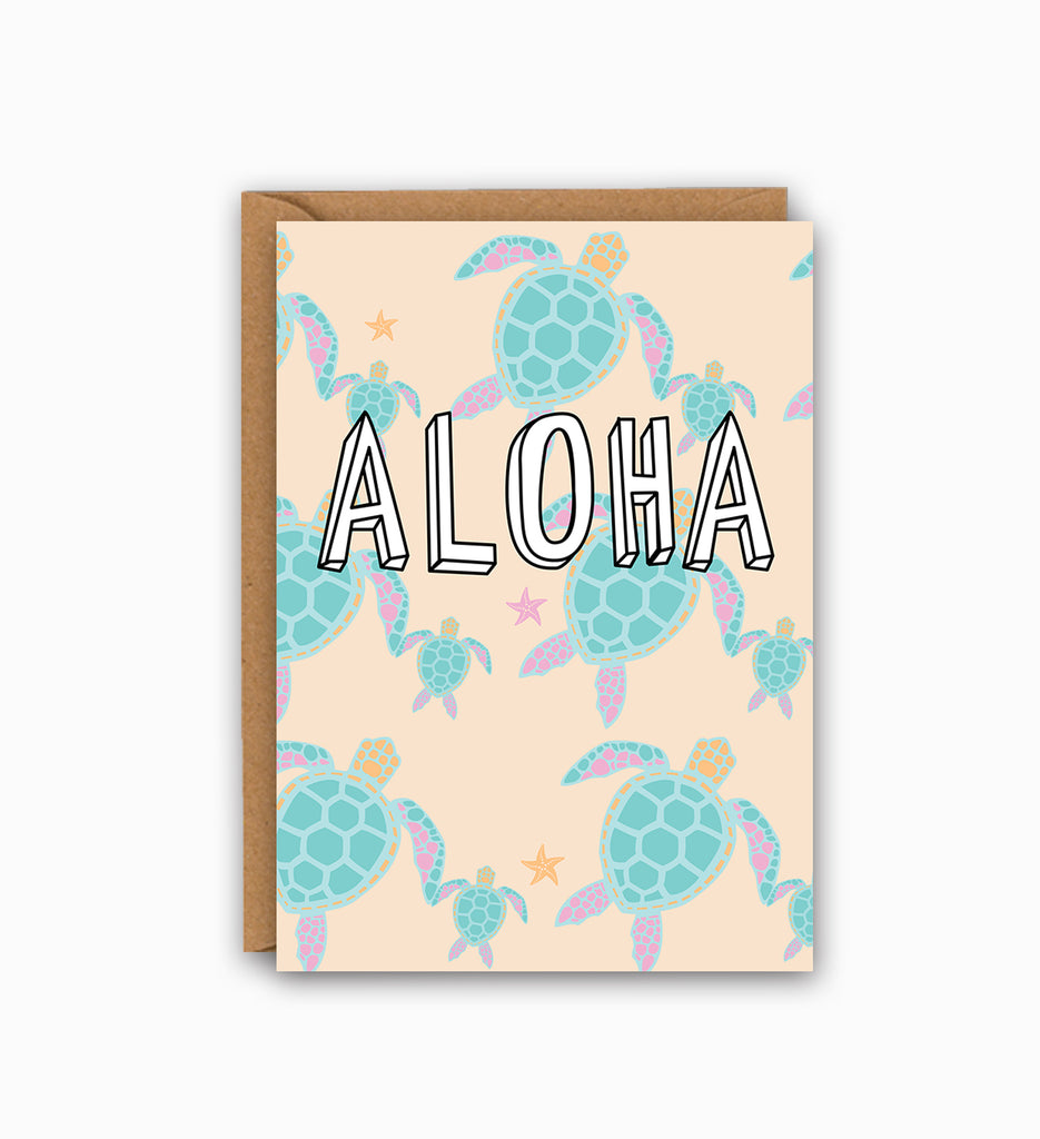 Aloha Greetings Card
